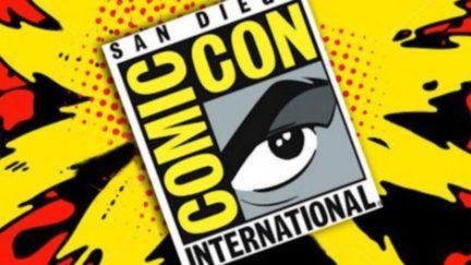 San Diego Comic-Con logo.