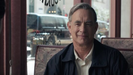 Tom Hanks looks to make us cry as Mr. Rogers in A Beautiful Day in the Neighborhood trailer.