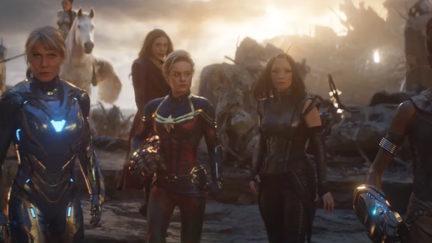 Women of Marvel in Avengers: Endgame