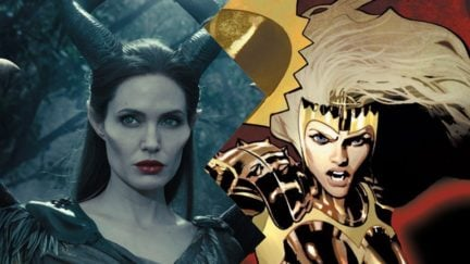 Angelina Jolie Malefient and Thena