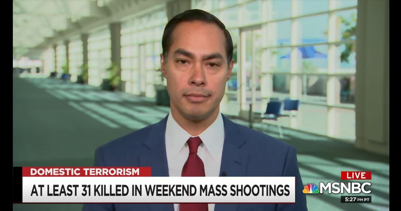 Mary Sue Joaquin: Julián Castro's New Ad Links Trump Rhetoric To Shootings
