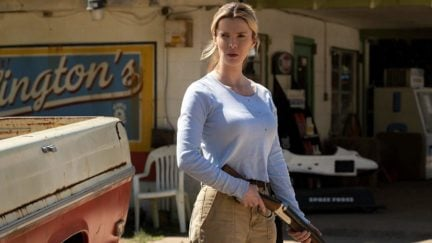 betty gilpin in universal's the hunt