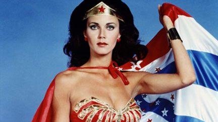 Lynda Carter in Wonder Woman (1975)