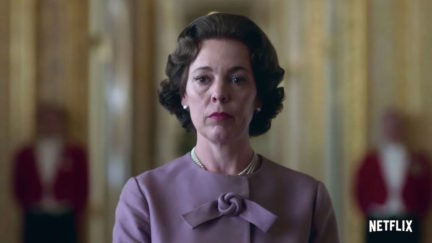 Olivia Colman as Queen Elizabeth II in The Crown