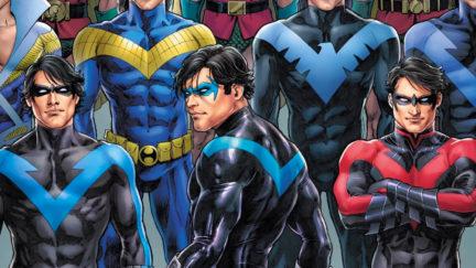 Nicola Scott's Nightwing art is too powerful.
