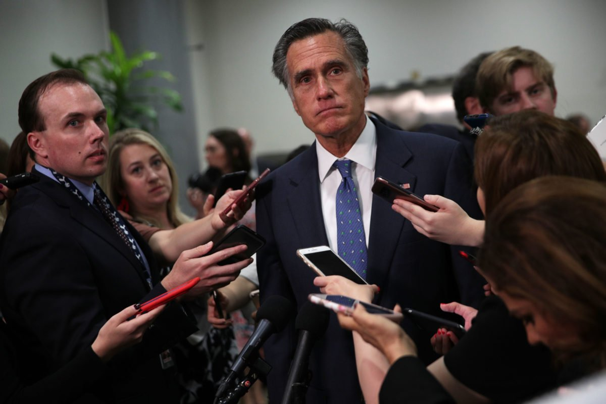 Mitt Romney Backs Vote on Supreme Court Nominee—Time to Get Those Red Cloaks Ready