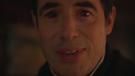 Screengrab from Moffat's Dracula