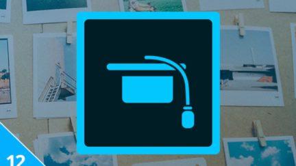 Adobe course bundle app icon.