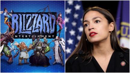Blizzard Entertainment US congress letter