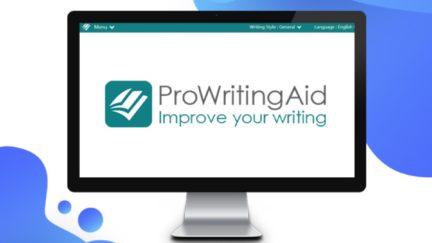 prowritingaid title on a computer screen