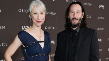 Alexandra Grant and Keanu Reeves are dating