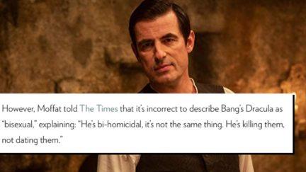 Claes Bang in Dracula (2020)