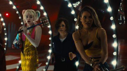 Margot Robbie, Mary Elizabeth Winstead, Jurnee Smollett-Bell, Rosie Perez, all being cool