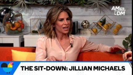 jillian michaels on buzzfeeds am2dm show