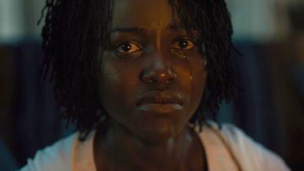 Lupita Nyong'o in Jordan Peele's Us.