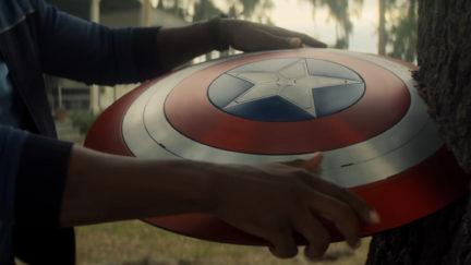 Captain America's Shield in Falcon and the Winter Soldier