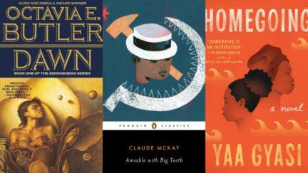 Homegoing by Yaa Gysai, Claude McKay, Octavia Butler's Dawn