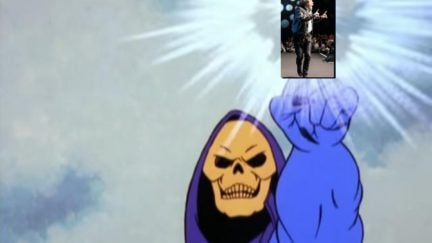 Mark Hamill is Skeletor which means we still somehow manage to deserve good things