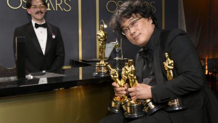Bong Joon-Ho and all his Oscar babies