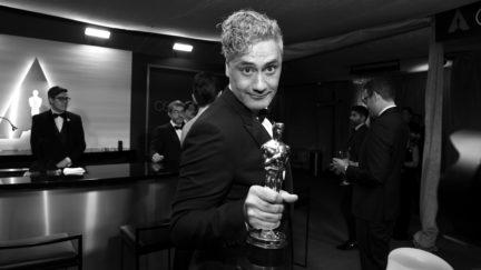 Taika Waititi and his Oscar