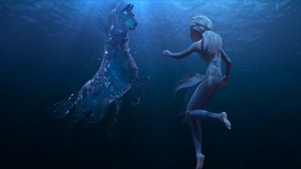 elsa and the nokk from frozen 2