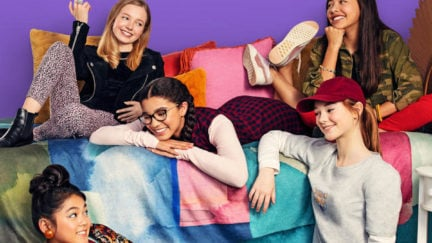 First poster for Netflix's The Baby-Sitters Club