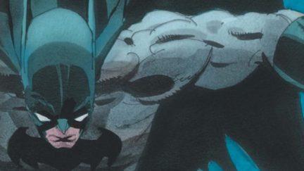 Batman The Long Halloween comic cover crop.