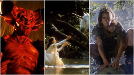tim curry mia sara and tom cruise get their fantasy on in Legend