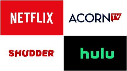 streaming services netflix hulu acorn shudder