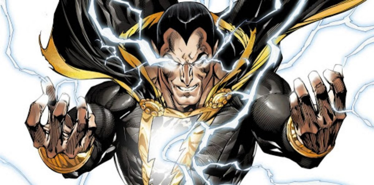 As Dwayne Johnson Bulks up for Black Adam, Let's Do a Quick Refresher on the Supervillain