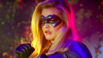 Alicia Silverstone as Batgirl in Batman and Robin.