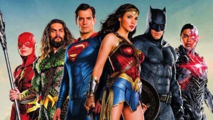 Warner Bros' movie Justice League