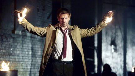 Matt Ryan as Constantine on NBC series.