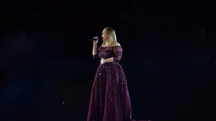 Adele slaying it on stage