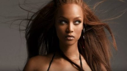 Tyra Banks host of America's Next Top Model and boy it was a mess
