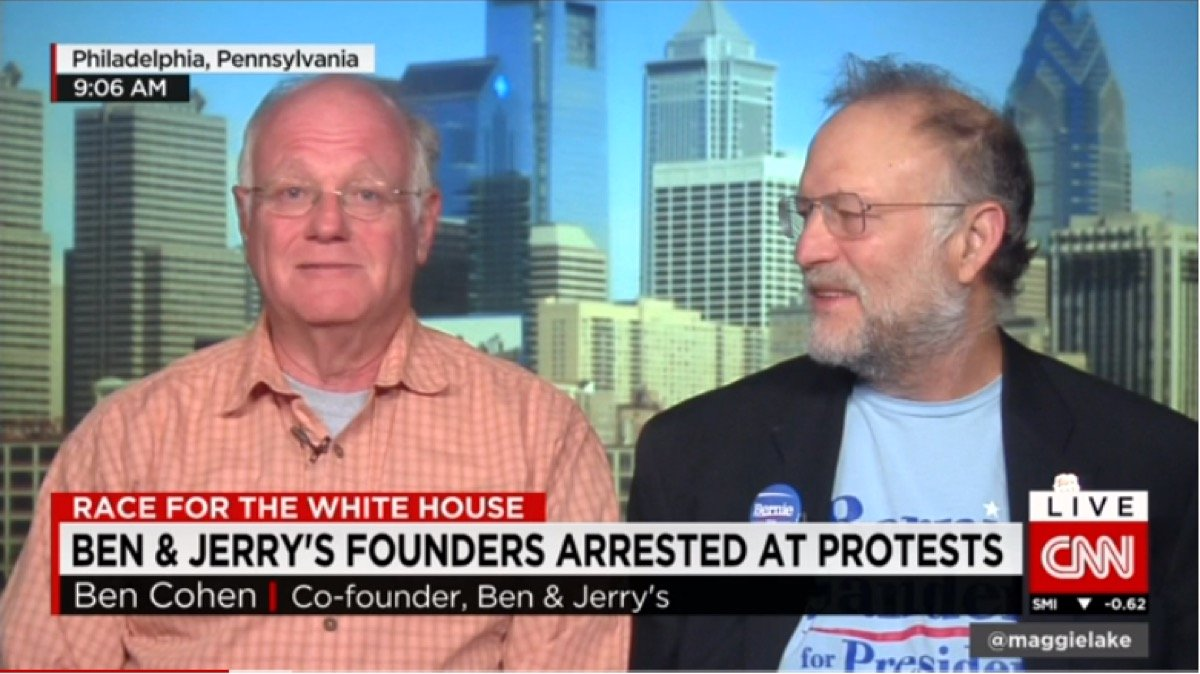 Things We Saw Today: Ben & Jerry's Let Everyone Know Exactly Where They Stand on White Supremacy