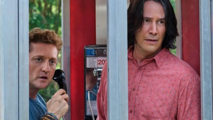 Bill and Ted Face the Music with Keanu Reeves and Alex Winter