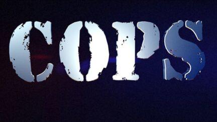 Cops TV show logo.