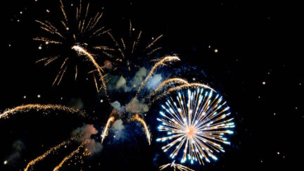 Mysterious fireworks all across america late at night