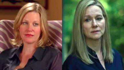 Skyler White of AMC's Breaking Bad and Wendy Byrde of Netflix's Ozark.