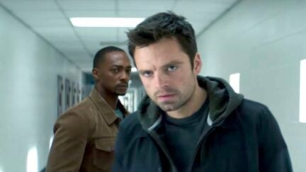 Bucky Barnes in The Falcon and the Winter Soldier.