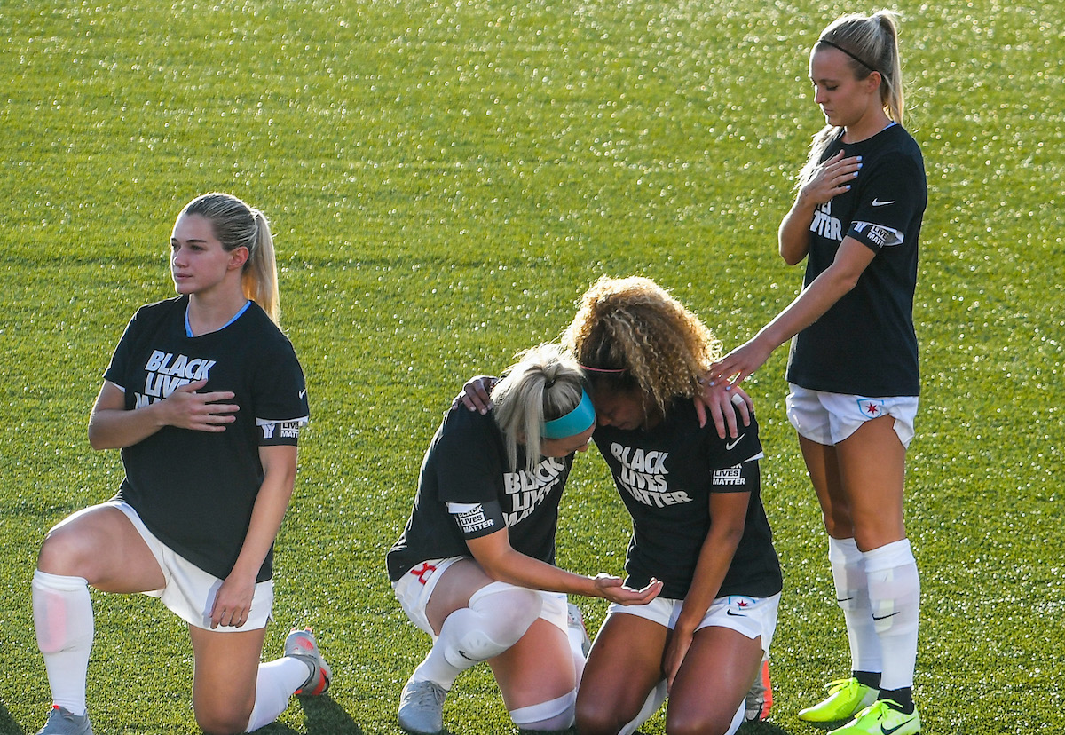 Women's Soccer Player Rachel Hill Tries to Explain Why She Stood for the Anthem While Her Teammates Knelt