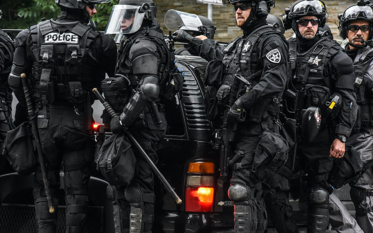 secret police in Portland