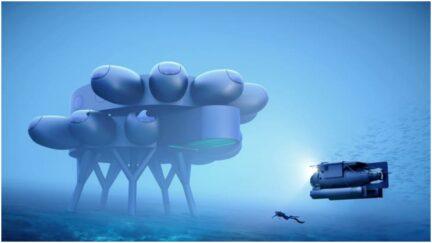 underwater sea station