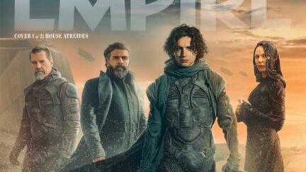 Empire Magazine Dune cover.