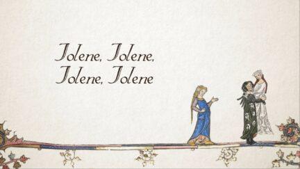 a medieval version of the jolene lyrics