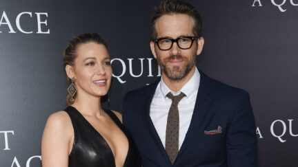 Blake Lively and Ryan Reynolds attend the premiere for