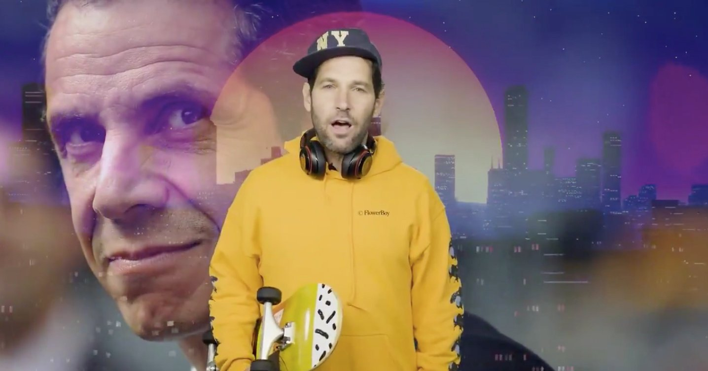 We Re All In Paul Rudd S Dank Squad Of Mask Wearers Now The Mary Sue
