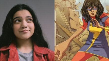 Iman Vellani is Kamala Kahn in Disney+'s Ms. Marvel
