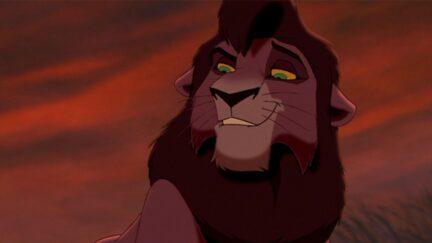 Kovu in the Lion King 2 Simba's Pride